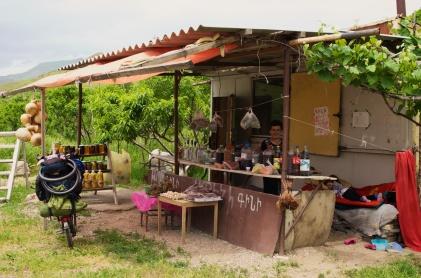 Weinverkauf in Areni