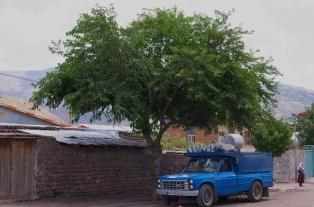 blauer Kastenwagen - ein Nationalsymbol?