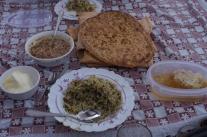 Mittagessen bei Hussein