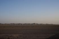SOnnenuntergang inder Wüste