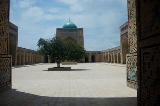 Kalon Moschee aus dem 16. Jahrhundert.
