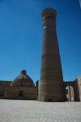 Kalon Minarett aus dem Jahre 1127. Ganz unten Steht mein Fahrrad