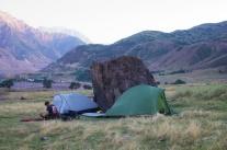 erste Nacht, 106 km bei 1600 Höhenmetern gefahren