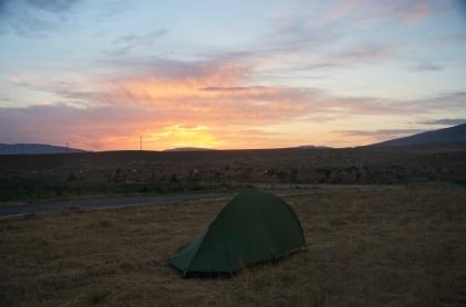 Aufstehen, wenn immer möglich, vor Sonnenaufgang.