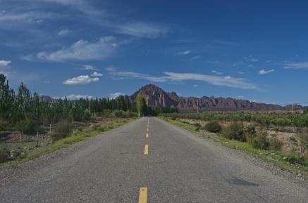 alte Straße nach Kashgar