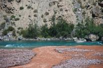 Zusammenfluss, ich glaube, das ist der Kashgar-River