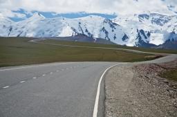 Irkeshtam-Pass, letzter Pass in Kirgistan