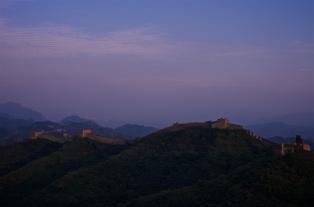 Mauer in der Abendsonne