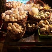 Eier in verschiedenen Größen