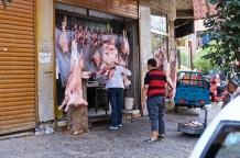 Fleischer an jeder Ecke