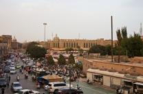 Platz vor der IdKah-Moschee, vom Hostel aus betrachtet