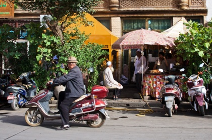 Straßen in der Altstadt von Kashgar