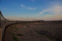 Frühmorgens in der Mongolei