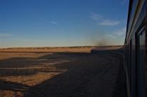 Morgelicht in der Wüste Gobi