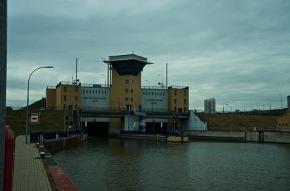 Übergang in de Elbe-Havel-Kanal