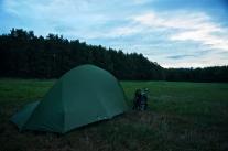 letzte Nacht im Zelt