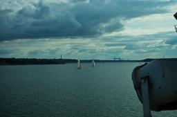 Ankunft in Kiel