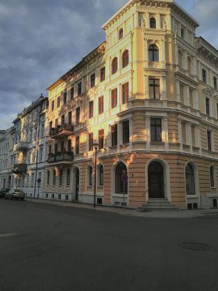 Abendlicht in den Straßen