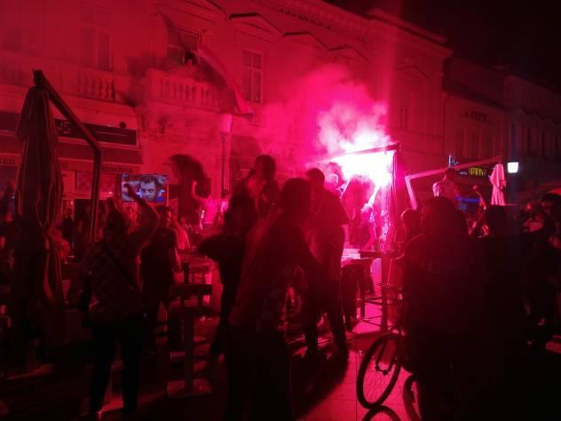 Kroatisches Straßenfest