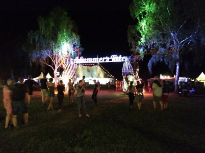 Eingang zum Festival